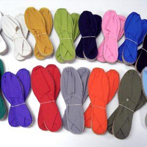 Abarketak tradizionalak kolore lisoa